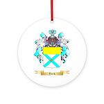 York Round Ornament