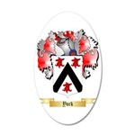 York (Eng) 35x21 Oval Wall Decal