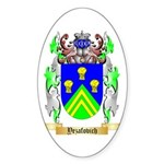 Yezafovich Sticker (Oval 50 pk)