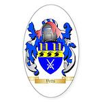 Yetts Sticker (Oval 50 pk)