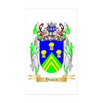 Yeskin Sticker (Rectangle 50 pk)