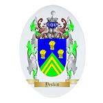 Yeskin Oval Ornament