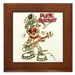 Punk Rocker Framed Tile
