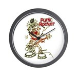 Punk Rocker Wall Clock
