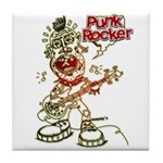 Punk Rocker Tile Coaster