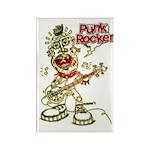 Punk Rocker Rectangle Magnet