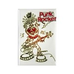 Punk Rocker Rectangle Magnet (100 pack)