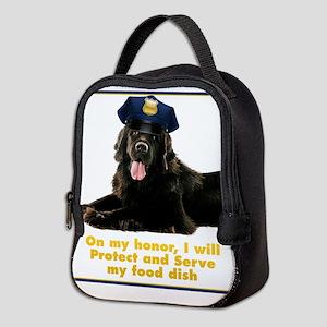 Police Newfie Neoprene Lunch Bag