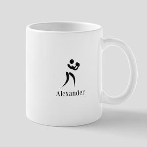 Team Boxing Monogram Mug
