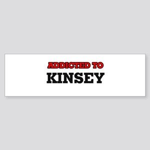 Addicted to Kinsey Bumper Sticker