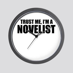 Trust Me, I'm An Author Wall Clock