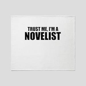 Trust Me, I'm An Author Throw Blanket