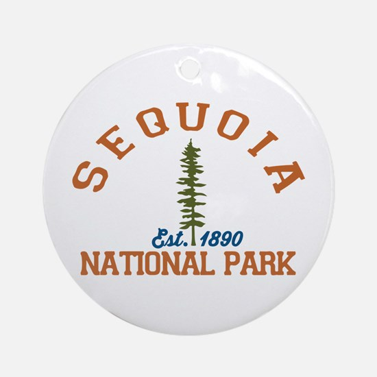 Sequoia National Park. Round Ornament