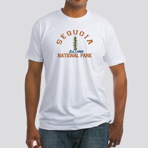 Sequoia National Park. Fitted T-Shirt