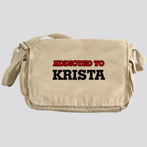 Addicted to Krista Messenger Bag
