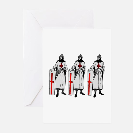 KNIGHTS Greeting Cards