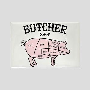 Butcher Shop Magnets