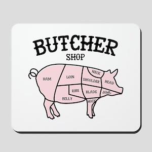 Butcher Shop Mousepad