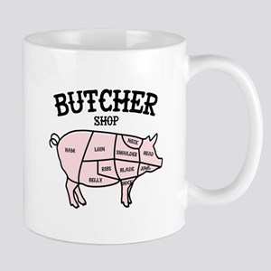 Butcher Shop Mugs