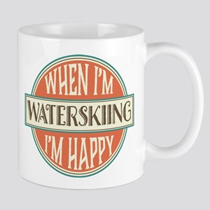 happy waterskier Mug
