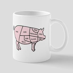 Pork Cuts Mugs