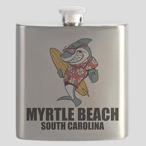 Myrtle Beach, South Carolina Flask