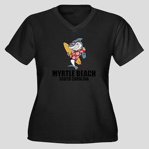Myrtle Beach, South Carolina Plus Size T-Shirt