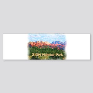 Zion National Park, Utah Bumper Sticker