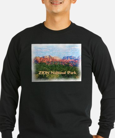 Zion National Park, Utah Long Sleeve T-Shirt