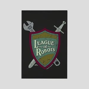 Futurama League of Robots Rectangle Magnet