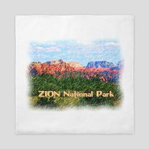 Zion National Park, Utah Queen Duvet