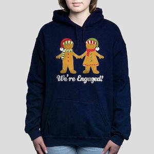 Christmas Engagement Engaged Sweatshirt