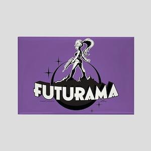 Futurama Leela Shadow Rectangle Magnet