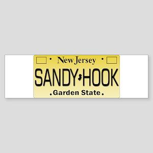 Sandy Hook NJ Tag Giftware Bumper Sticker
