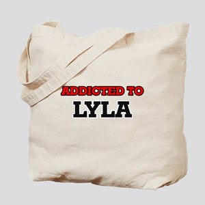 Addicted to Lyla Tote Bag