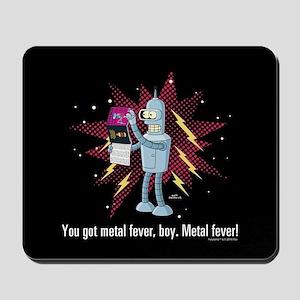 Futurama Metal Fever Mousepad