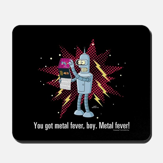 Futurama Metal Fever Mousepad
