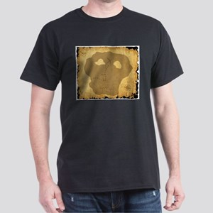 Old Pirate Treasure Map T-Shirt