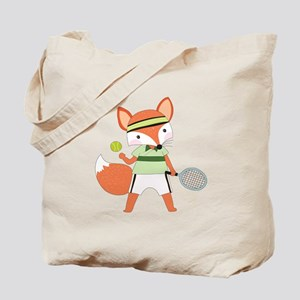 Red Fox Tennis Tote Bag