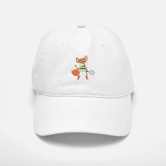 Red Fox Tennis Baseball Baseball Cap