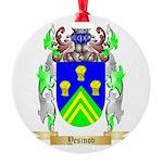 Yesinov Round Ornament