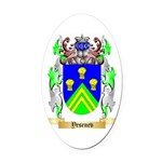 Yesenev Oval Car Magnet