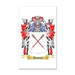 Yeoman Rectangle Car Magnet