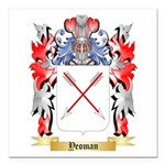 Yeoman Square Car Magnet 3