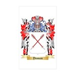 Yeoman Sticker (Rectangle 50 pk)