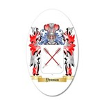 Yeoman 20x12 Oval Wall Decal