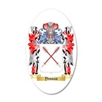 Yeoman 35x21 Oval Wall Decal