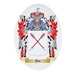 Yeo Oval Ornament