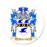 Yegorkin Round Car Magnet