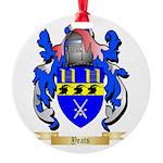 Yeats Round Ornament